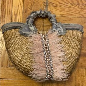 Sam edwlman ratan picnic bag